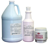 cleaners, liquid cleaner, waterless cleaner, pink liquid cleaner, waterless cleaner, granite cleaner, surface plate cleaner